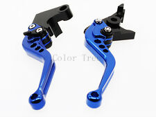 Shorty Clutch Brake Lever for YZF R6S 2006-2009 2008 USA VERSION (not R6) Blue