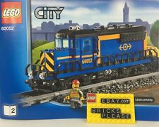 New LEGO Cargo Train Engine Head Car and Powerfunctions ONLY!From City Set 60052