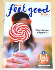 Weight Watchers Meine Feel Good Woche 29.5-4.6 SmartPoints 2016 Wochenbroschüre