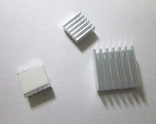 Aluminum Heatsink x3pcs - Protect OverClocking Raspberry Pi 2 & Model B, B+. A+