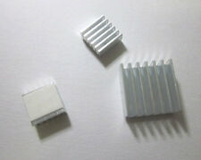 Aluminum Heatsink Set x3pcs - Protect OverClocking for Raspberry Pi 3, 2, B, B+