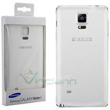 Back cover copri batteria BIANCO originale Samsung per Galaxy Note 4 N9100 N910F
