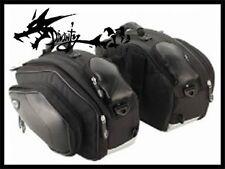 SaddleBag Black For Kawasaki ZX-6R ZX-10R Z1000 Z 1000 ZZR600 Ninja250R Ninja650
