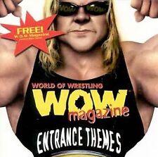 Wrestling Entrance Themes WWE ECW WWF WCW RAW CD New Rock Kane WOW Undertaker