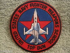 "USN ""Top Gun"" Fighter Weapons School Patch USN  A-4 SKYHAWK U.S. NAVY TOPGUN"