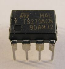 5 Stück TS271ACN STM CMOS Programmable Low Power Single OPAMP - AE16/7731
