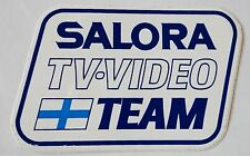 Aufkleber SALORA TV VIDEO TEAM Finnland Suomi Salo 80er Jahre Sticker Decal