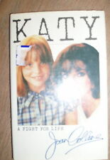 *KATY, A FIGHT FOR LIFE by JOAN COLLINS* GOLLANCZ 1982 *UK POST £3.25 *H/B*