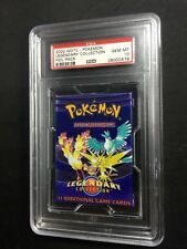 PSA 10 GEM MINT Pokemon Legendary Collection pack Zapdos Articuno Moltres A2772