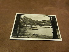 Real Photo Postcard -Ullswater from Blawith Bay-Lake District/ Cumbria- row boat