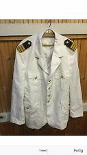 Original Marine Jacke Uniform Kapitän Größe XXL NEU Offizier Größe 54 BW NEU