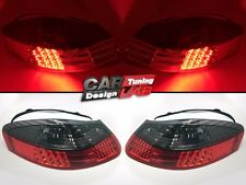 (2) For 96-04 Porsche BOXSTER 986 Roadster Red / Smoke LED TAIL LIGHT Rear Lamps