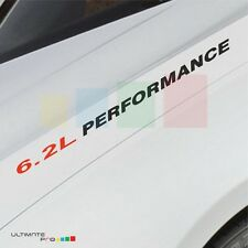 6.2L PERFORMANCE Decal sticker for Chevrolet Camaro 2SS Colorado Corvette light