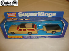 MATCHBOX SUPERKINGS K-68 DODGE MONACO & TRAILER - NR MINT in original BOX