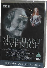 The Merchant Of Venice BBC Shakespeare DVD New Sealed