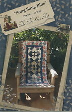 Song Sung Blue ~ Quilt Quilting Pattern ~ by The Teacher's Pet TP316