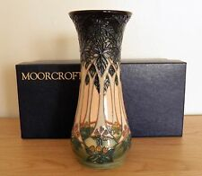 MOORCROFT ~ CLUNY VASE BY SALLY TUFFIN ~ 8 inch/21 cm ~ BOXED ~ 1st QUALITY