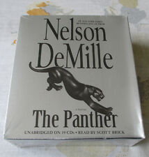 THE PANTHER by Nelson DeMille (2012, 19 CDs, Unabridged - New) Agent John Corey