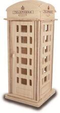 TELEFONO casella 3D IN LEGNO Modellazione KIT Modello Puzzle Dr Who