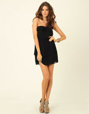 Supre Womens/Ladies Size XS/8 Formal/Party/Cocktail Strapless Dress - Black BNWT