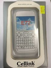 Nokia E72 Silicon Case in White SCC4432WH. Brand New in the Original packaging.