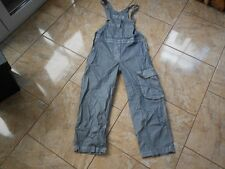 H9071 MECCA Dungarees Trousers W30 Silver - grey Very good