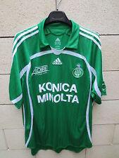 VINTAGE Maillot AS SAINT-ETIENNE Adidas Les Verts shirt XXL