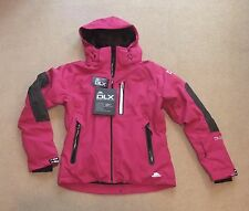 NEW TRESPASS SLENDER DLX  LADIES SKI  JACKET (LARGE)  AZALEA