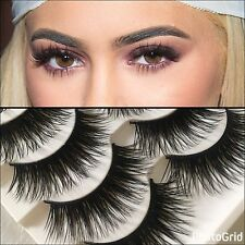 10 Pairs Wispy LONG Lashes - FAST free SHIPPING