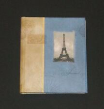 New Paris Journal Eiffel Tower Blank Book Blue Ruled Hardcover Lined France Hard