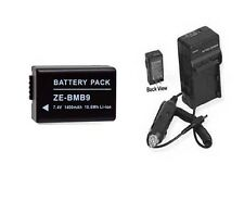 Battery + Charger for Leica V-LUX 2 VLUX2 V-LUX 3 V-LUX3 VLUX 3 VLUX3