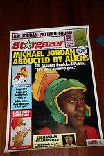 Air Jordan Pattern found Stargazer NBA Bulls 23 basketball poster 1993 Nike