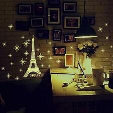 Free Shipping A Set Kids Bedroom Fluorescent Glow In The Dark Stars Wall Sticker