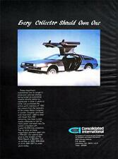Old Print. 1983 DeLorean Auto Advertisement