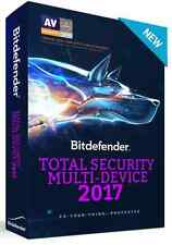 72HR SUPER SALE: Bitdefender Total Security Multi Device 2017 - 5 Devices - 1 YR