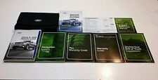 2012 FORD F-150 WITH NAVIGATION OWNERS MANUAL PLATINUM LIMITED LARIAT XLT FX4 2W