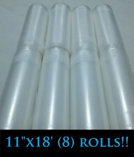 "8[Eight]11""x18'rolls for use in all universal FOODSAVER &other Vacuum Sealer bag"