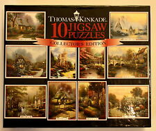 THOMAS KINKADE Collector's Edition 10 Jigsaw Puzzles Series 5- 3801-5 Brand New