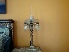 VICTORIAN STYLE BRASS TABLE LAMP