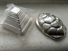 YPS *Retired* 4oz Turtle PLUS Pyramid .999 Silver MATCHING PAIR #46 ULTRA RARE!