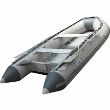 3.3M Inflatable Boat Inflatable Rafting Fishing Dinghy Tender Pontoon Boat G