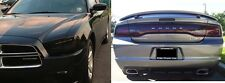 11-14 DODGE CHARGER PRECUT SMOKED TAILLIGHT & HEADLIGHT TINT COVERS COMPLETE SET