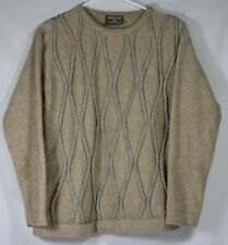 New Zealand Possum Fur Merino Ridiculously Soft Sweater Sz S FLAWS