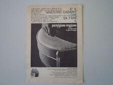 advertising Pubblicità 1963 PARMIGIANO REGGIANO