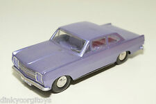 VEB PLASTICART PLASTIC OPEL REKORD METALLIC PURPLE NEAR MINT CONDITION REPAINT