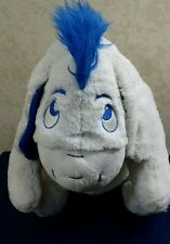 "Disney Winnie The Pooh Eeyore 21"" Plush Large Stuffed Animal Store Blue White"