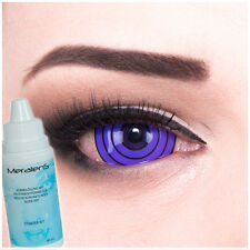 Coloured Fun Crazy sclera contact lenses Violet Rinnegan for Halloween