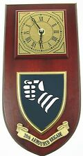 20TH ARMOURED BRIGADE  CLASSIC HAND MADE TO ORDER WALL CLOCK