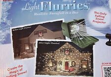 Chelsea Home Outdoor Snowfall Light Flurries Christmas Holiday  LED Projector