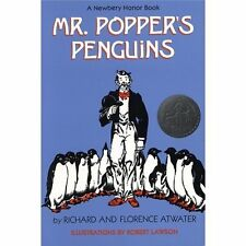 Mr. Popper's Penguins 4 Paperbacks + Classroom Guide (Teacher Created Resource)